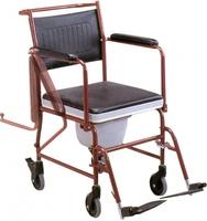 Инвалидное кресло-каталка с санитарным оснащением Титан LY-800-690