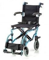 Кресло-коляска детская LY-800-K2 (шир. сид. 38 см) колеса PVC, цвет синий