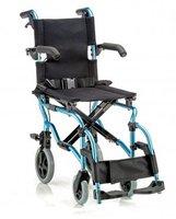 Кресло-каталка детская LY-800-800-K2 (шир. сид. 35 см) цвет синий