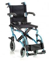 Кресло-каталка детская LY-800-800-K2 (шир. сид. 37 см) цвет синий