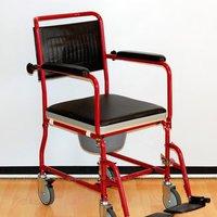 Кресло-каталка Мега-Оптим FS692-45 с санит. устройством