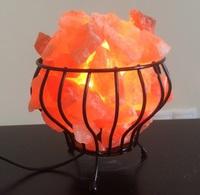 Солевая лампа Домашний очаг (модель 790) 5 кг