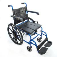 Кресло-коляска HMP-7014KD с санитарным оснащением 3 в 1 (аналог KY790) сидение 43, 46 см