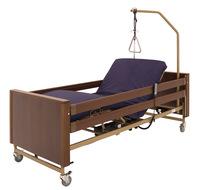 Кровать электрическая Мед-Мос YG-1 (KЕ-4024M-22) 5 функции, (ложе удлиненное 200*120 см) с матрасом, ЛДСП