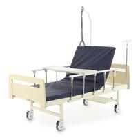 Кровать механическая Мед-Мос Е-17В (MМ-1024Д-00) ЛДСП, с матрасом