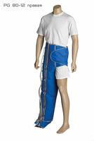 Манжета Pulsepress 12-секционная-Лимфатические леггинсы обхват в полуталии 82 см, ноги 80 см PG80/12 (правый)