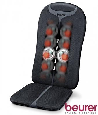 Массажная накидка на сиденье Beurer MG205 black шиацу