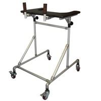 Ходунки-роллаторы опорные «Ангел Соло» для взрослых (высота подлокотной опоры 103-143 см / 100 кг)