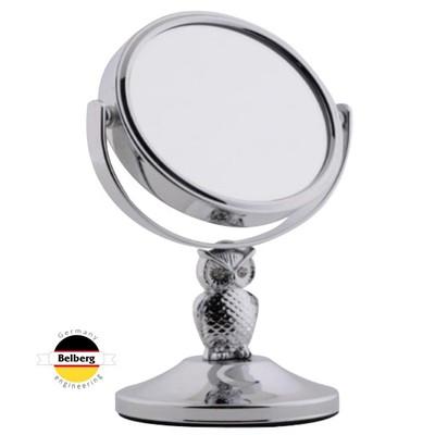 Зеркало косметическое Belberg BZ-11 (с 5-ти кратным увеличением) Сова
