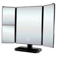 Зеркало настольное uLike с подсветкой раскладное GESS-805 цвет черный